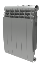Радиатор Royal Thermo BiLiner  500/87/10 секций серебристый