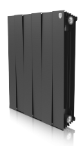 Радиатор Royal Thermo PianoForte 500/100/6 секций чёрный